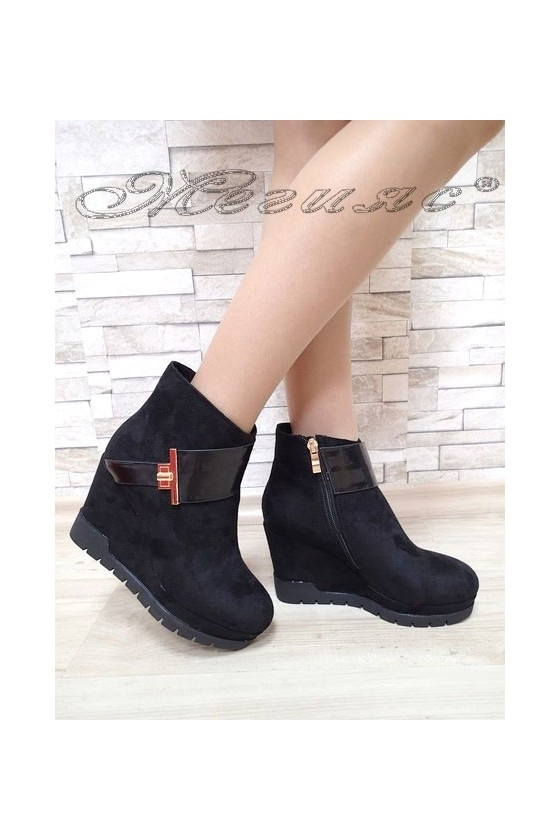 Lady boots Christine 2017-138 black suede