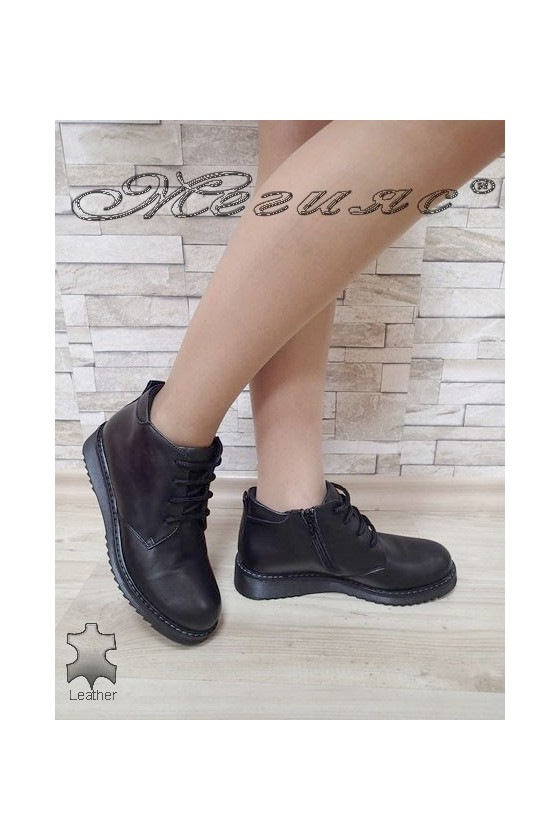 Lady boots 2032 black leather