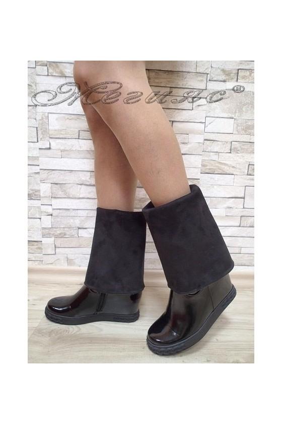 Lady boots Cassie 20W17-37 black pu