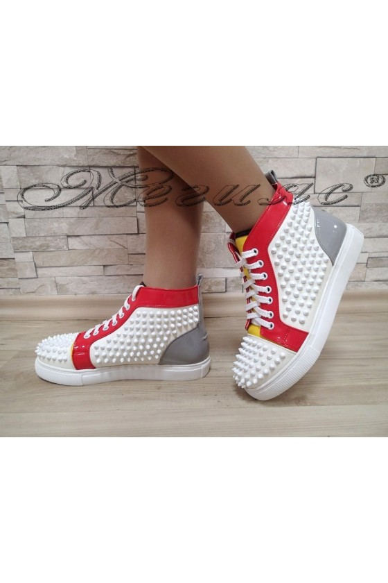 Women sport boots Christine 20W17-241 white pu