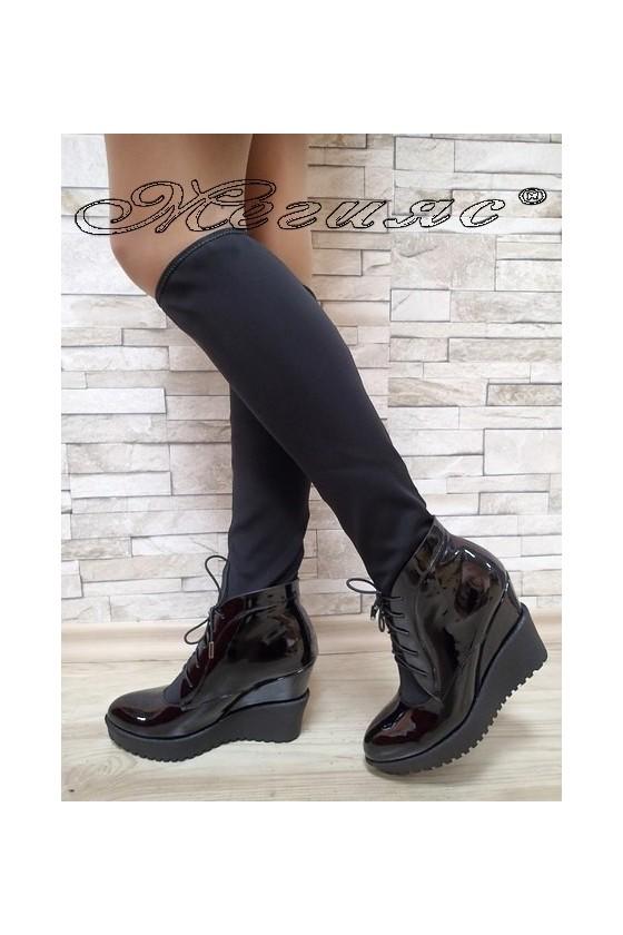 Lady boots Carol 2017-188 black