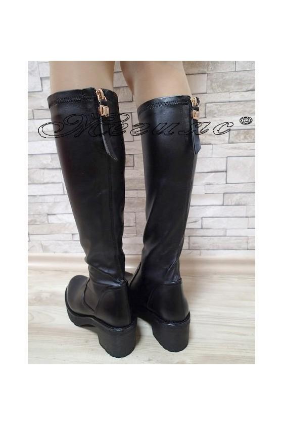 Lady boots  Carol 20W17-190 black pu