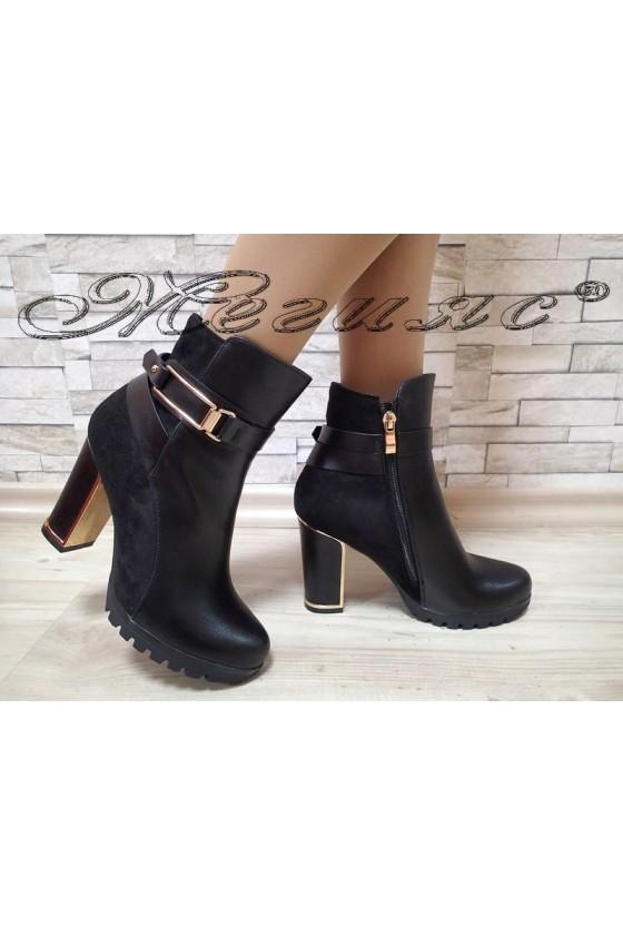 Women boots SUN 2017-20 black pu