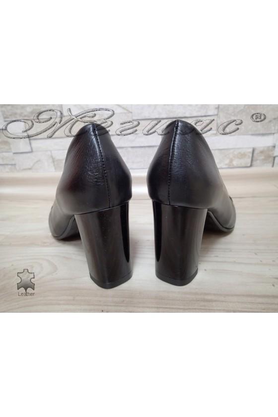 Women shoes 114/0115 black leather