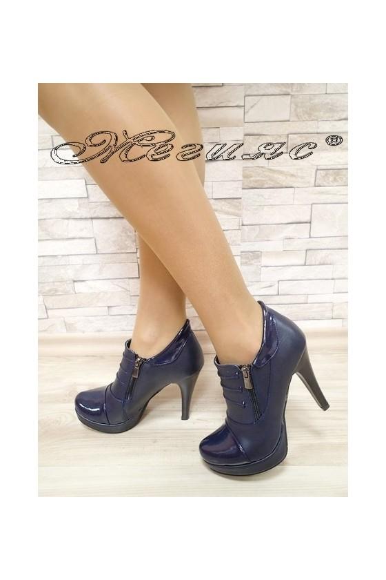 Lady shoes 495 blue