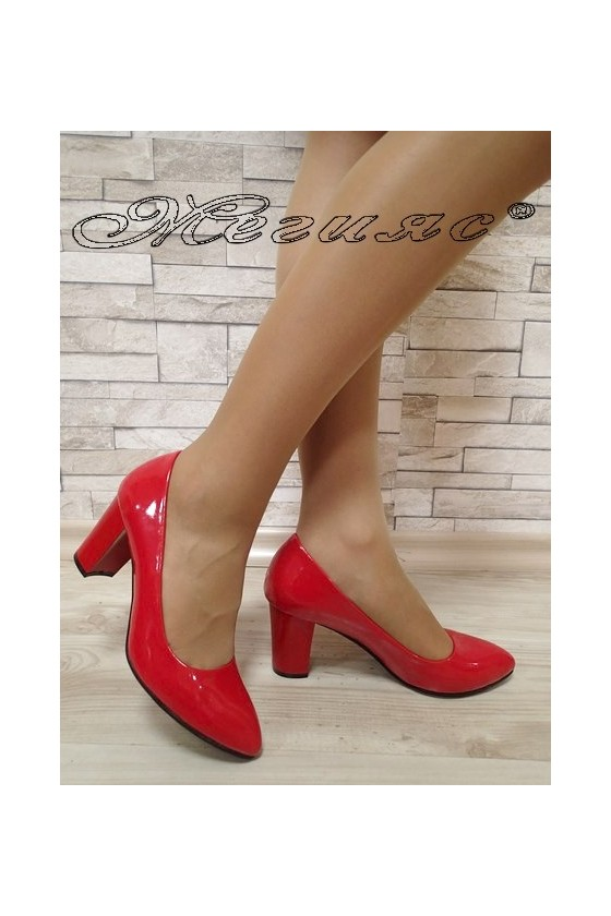 Lady shoes 701 red