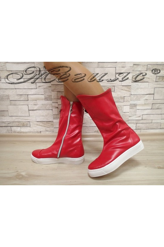 Lady boots 1306 red