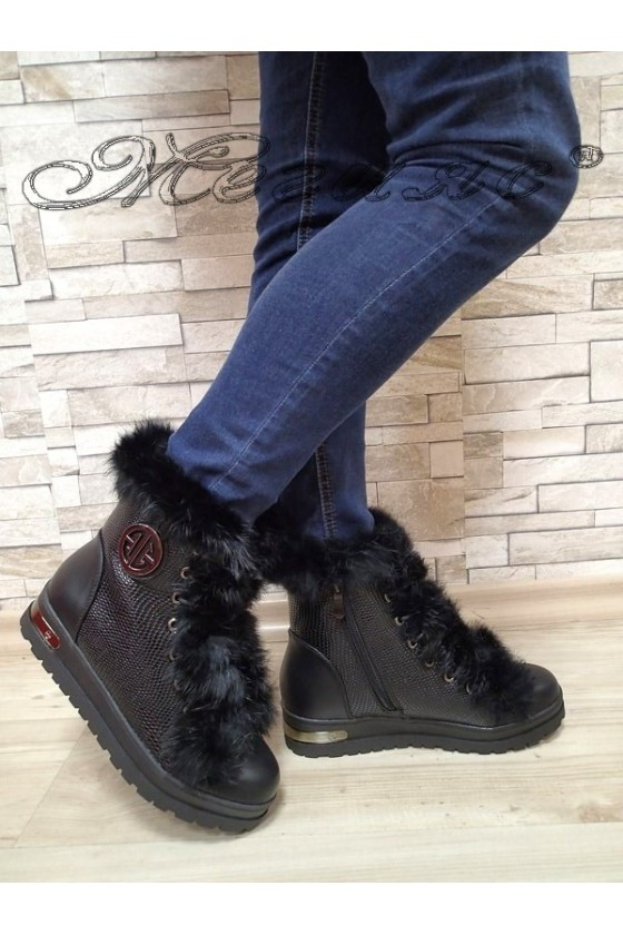 Lady boots Cassie 20W17-2023-2 black