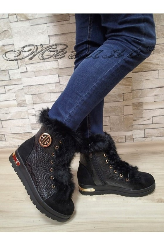 Lady boots Cassie 20W17-2023-1 black