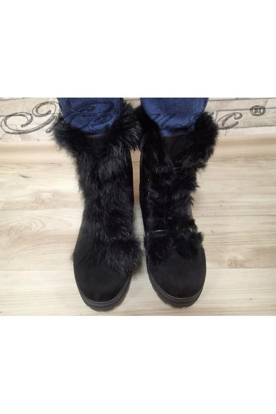 Lady boots Cassie 20W17-2023-1 black