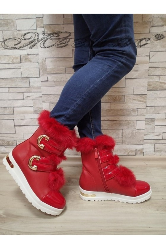 Lady boots Cassie 20W17-2022 red