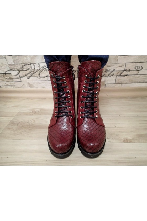 Lady boots 700-k red