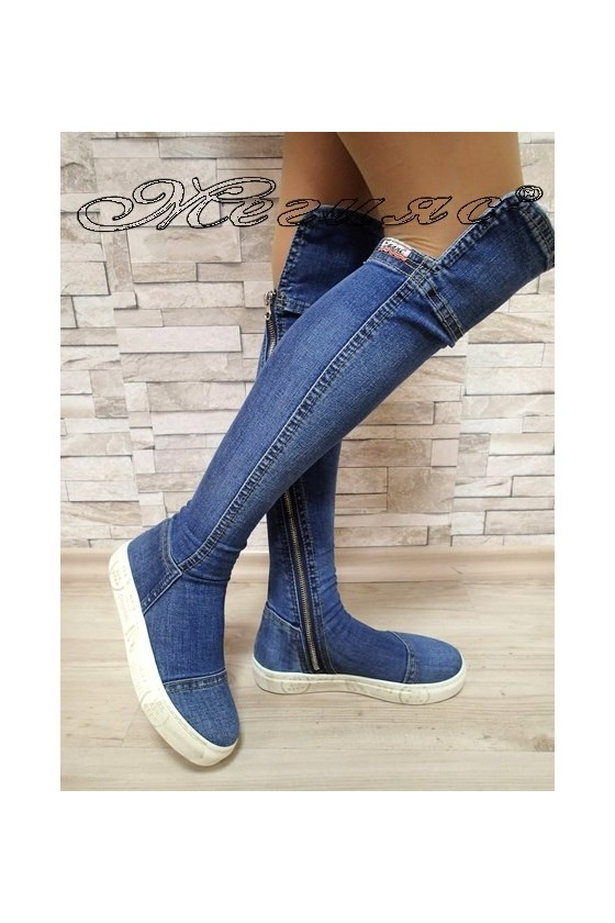 Lady boots 59-09-357 jeans