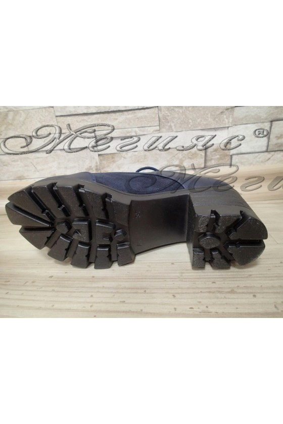 Lady  shoes 250 dark blue pu