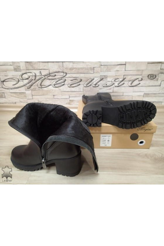 Women boots  50/4350 black leather
