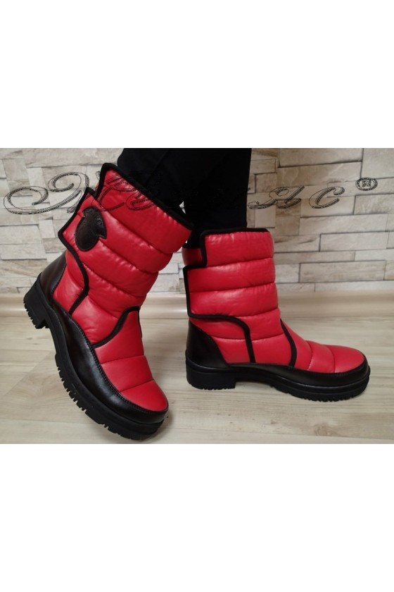 Lady boots 549 red HARY