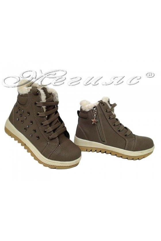 Child sport boots 083 beige pu