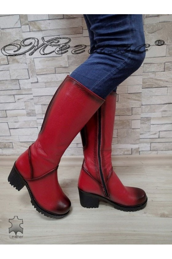 Lady boots  50/4350 red...