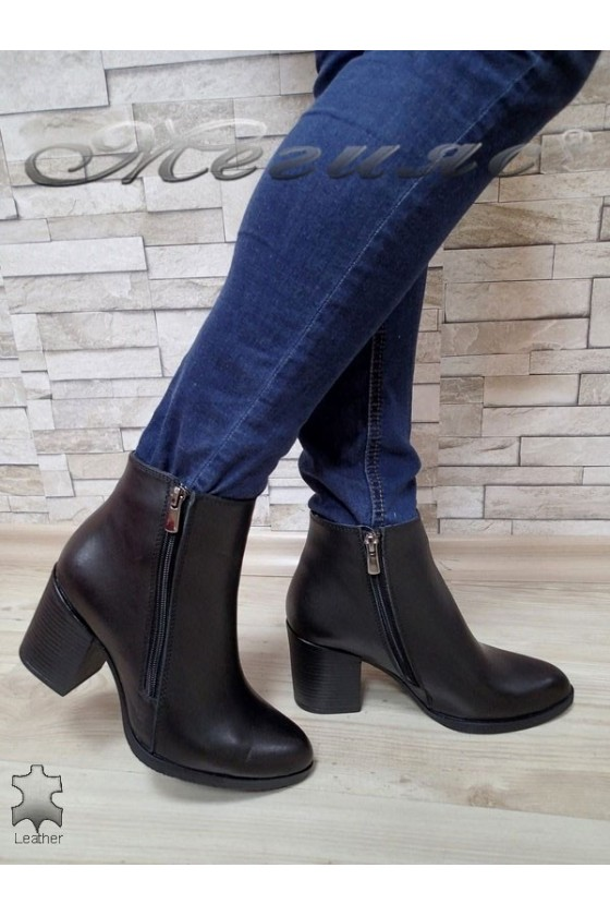 Lady boots 710 black leather
