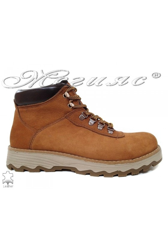 Men's boots 10/510 taba leather
