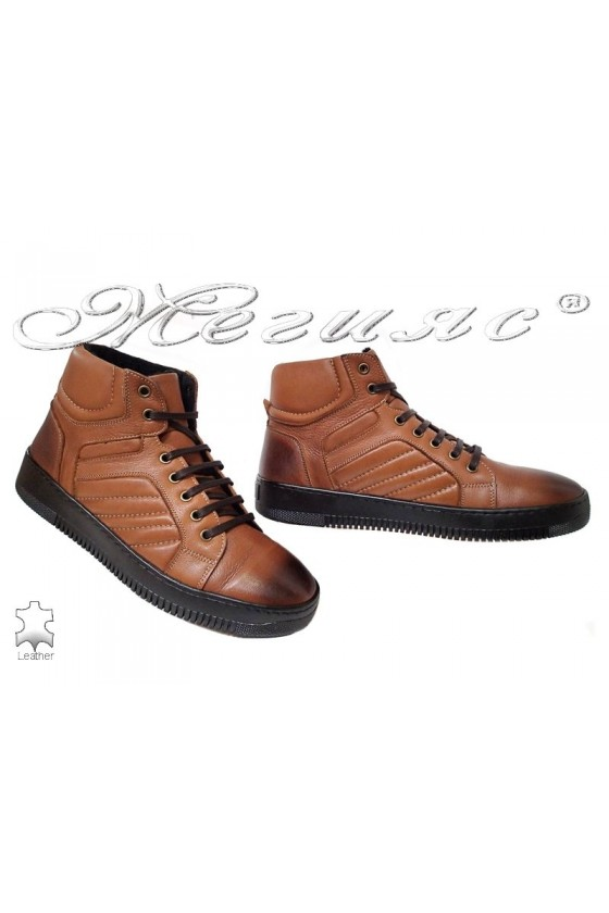 Men's sport boots 101 taba  leather