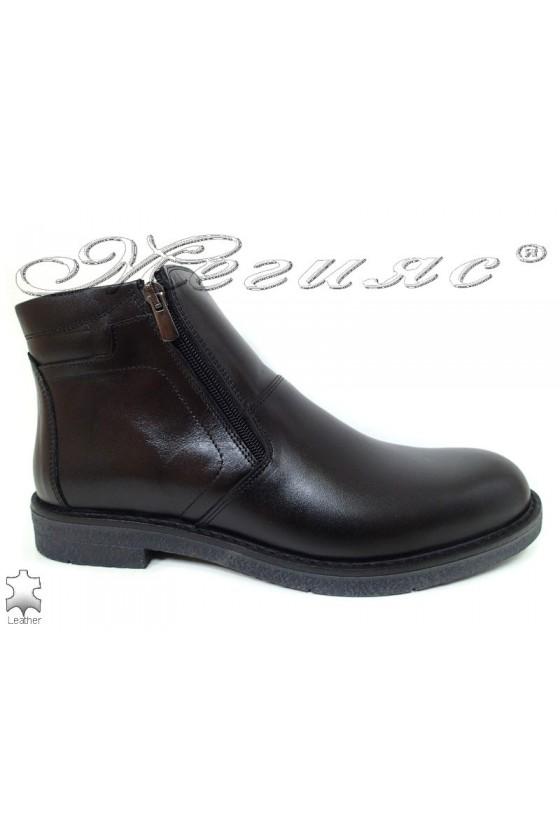 Men boots 17201  FANTAZIA black