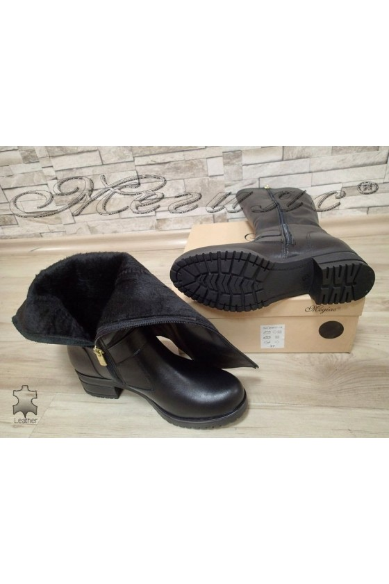 Lady boots 2000 black leather