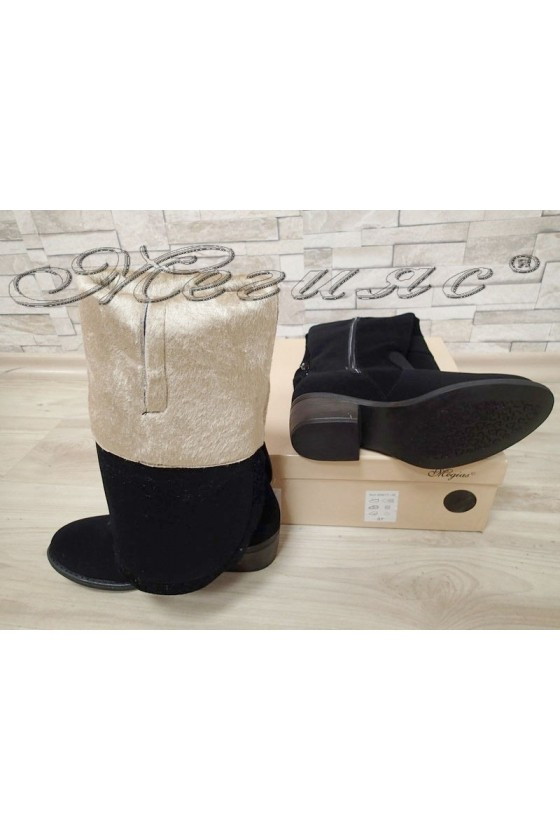 Lady boots 220 black suede