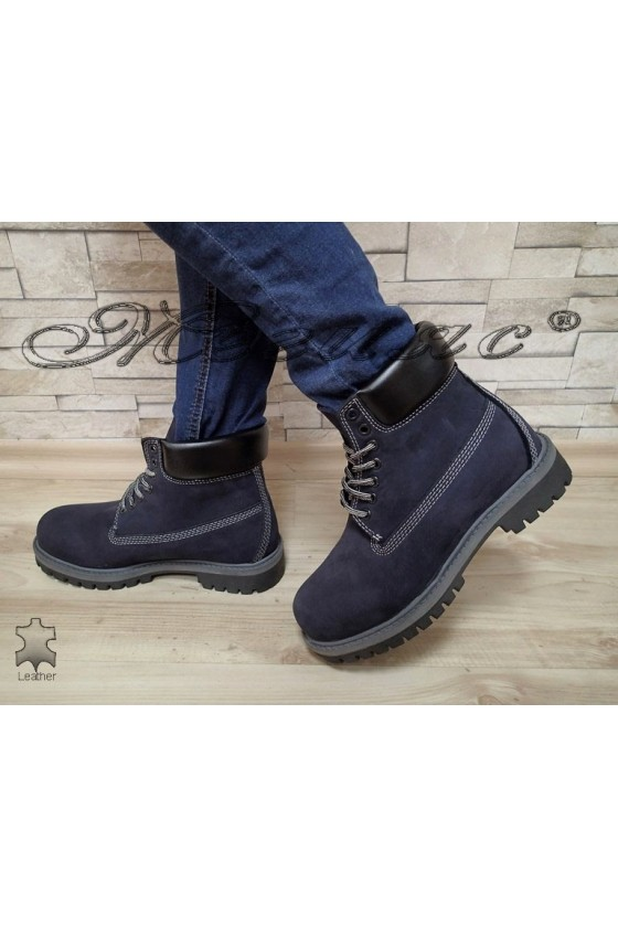 boots casual Mer / Garson blue leather