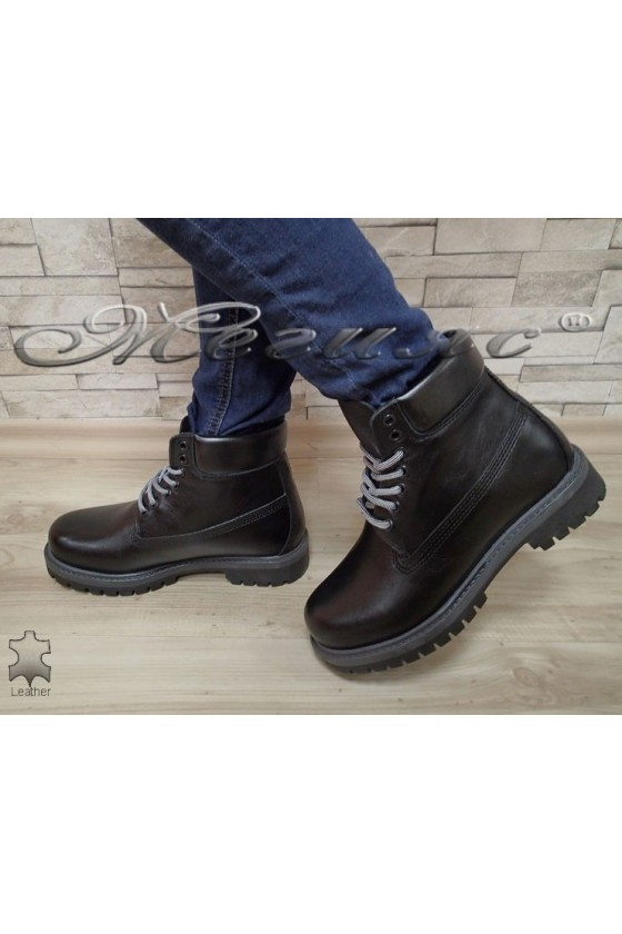 boots casual Mer / Garson black leather