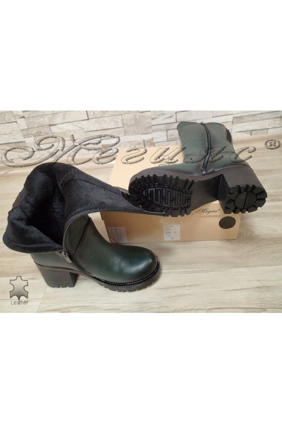 Lady boots  50/4350 green leather