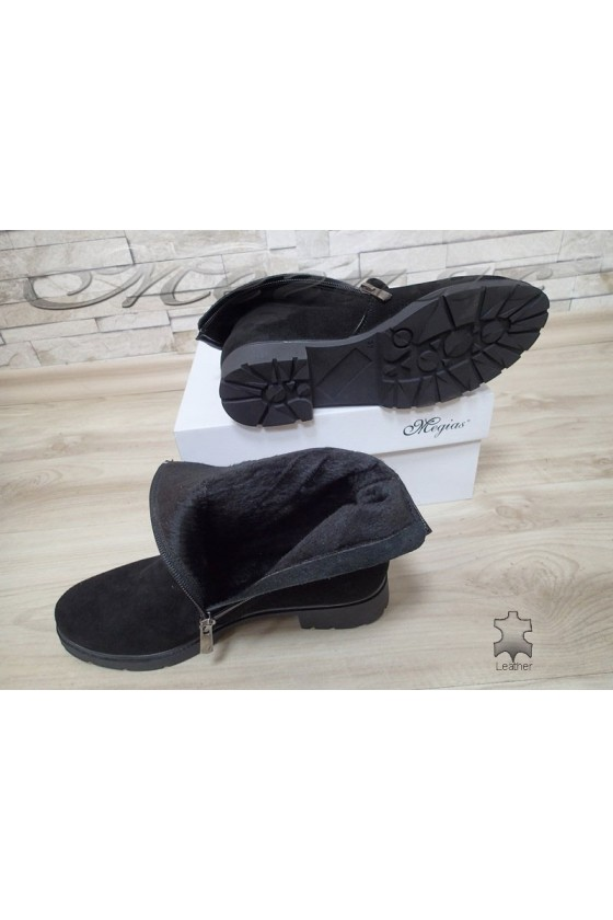 Lady boots 303 black suede