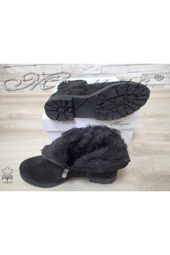 Lady boots 302 black suede