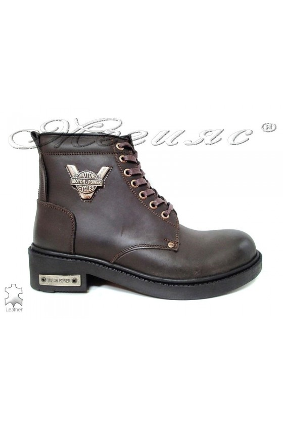 Men's boots 980 brown leather