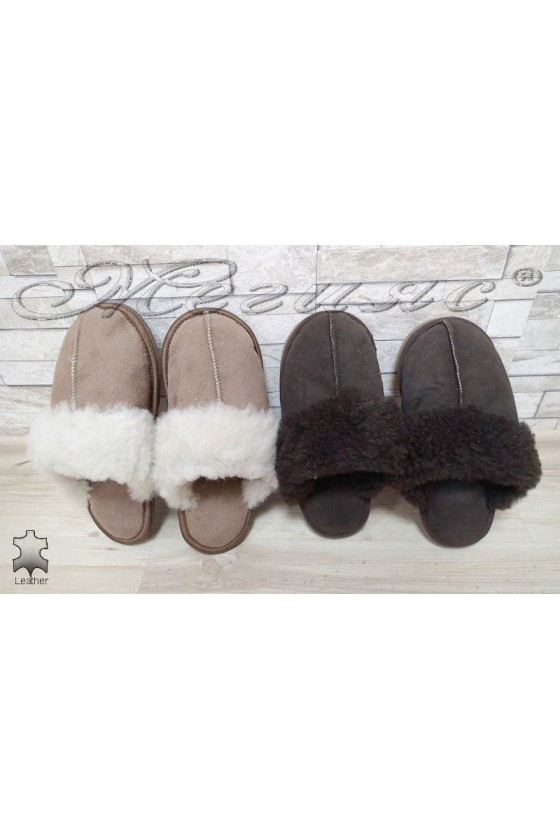 Slippers MILVENA leather