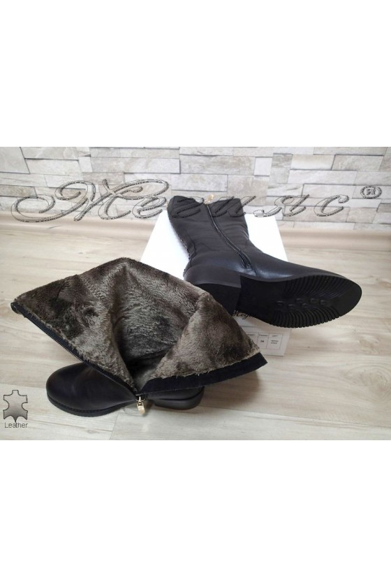 Lady boots VICTORIA 15536 black leather