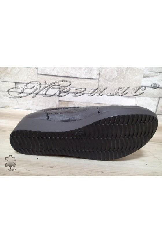 Women  shoes 012 black patent