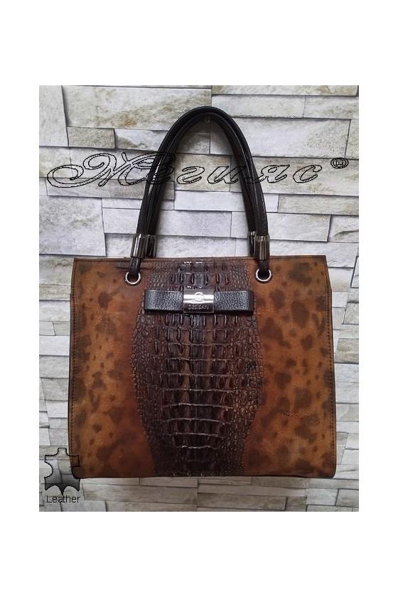 Bag 2921 brown leather