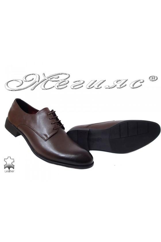Men shoes 1656 darck brown
