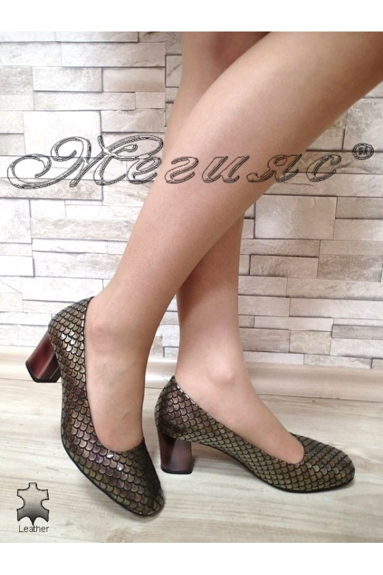 Lady shoes 933-99 brown...