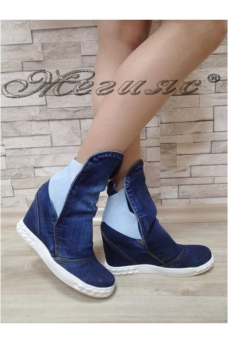 Lady jeans boots k-15