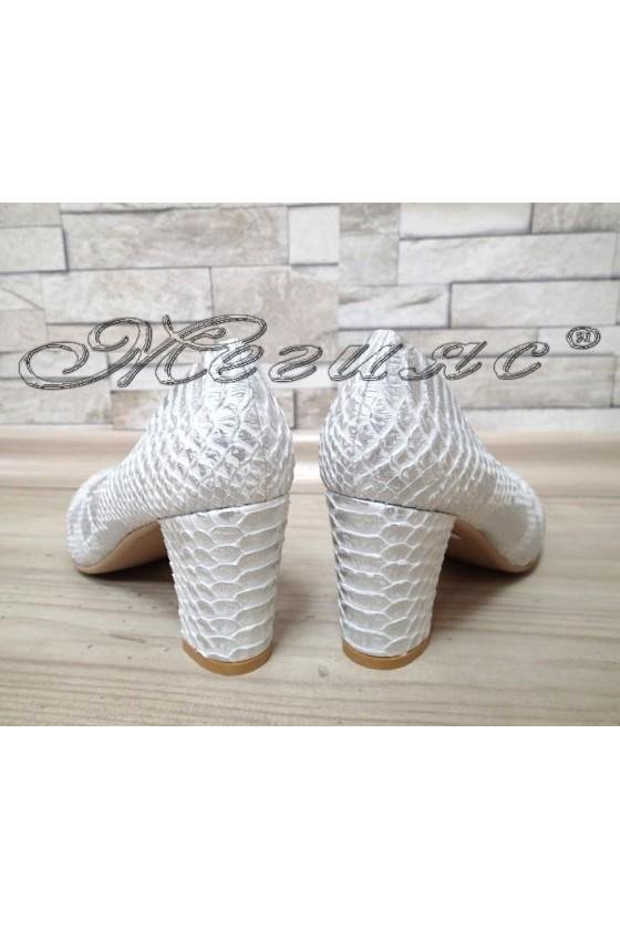 Lady elegant shoes Carol 1720-107-1 white pu