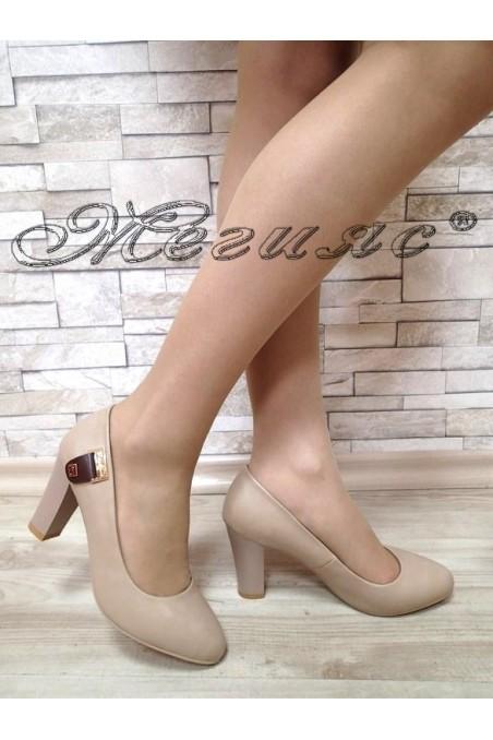 Lady shoes Carol 1720-105 beige pu