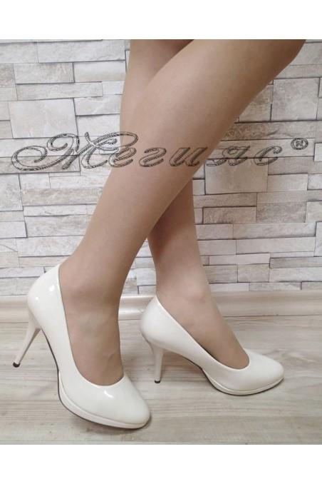 lady elegant shoes Stella S1720-202 Lt.beige
