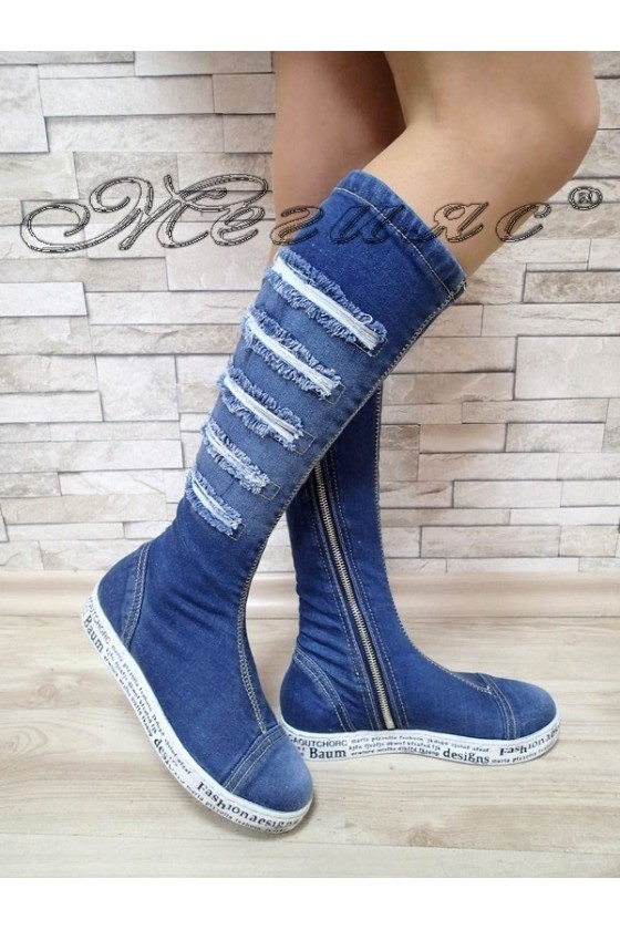Lady boots 500-111-9 jeans
