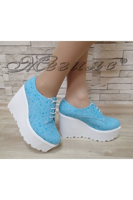 Women platform shoes 302 green