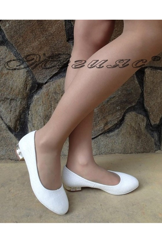 Lady elegant shoes Carol 1720-111 white pu