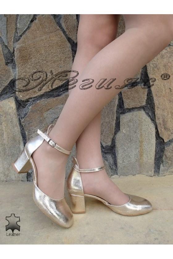 Дамски сандали 147 еко кожа елегантни на ток