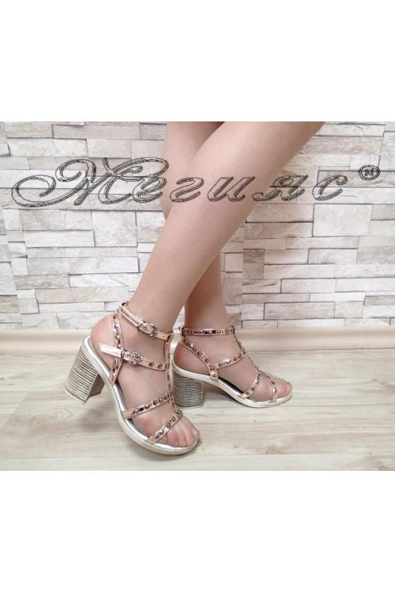 Ladies sandals 58-100 pink