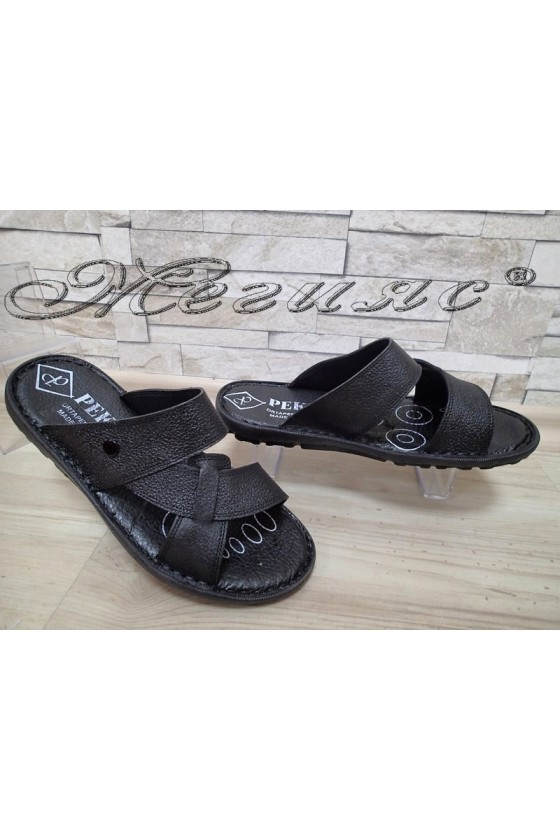 Men's slippers А-111 black